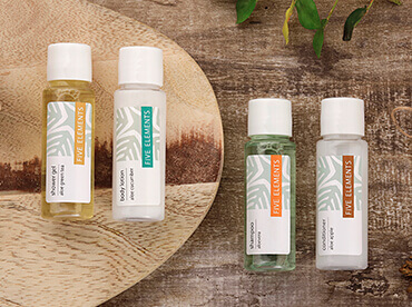 Hotel Toiletries India, Five Elements®, Kimirica Hunter International