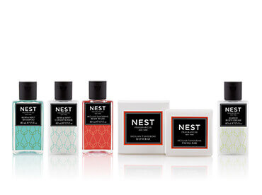 Hotel Toiletries India, Nest®, Kimirica Hunter International, Licensed Hotel Toiletries.