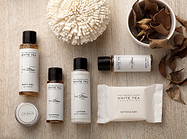 Hotel Toiletries India, The French Note® White tea Collection The Blanc, Kimirica Hunter International