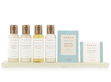 Hotel Toiletries India, Tocca®, Kimirica Hunter International, Licensed Hotel Toiletries.