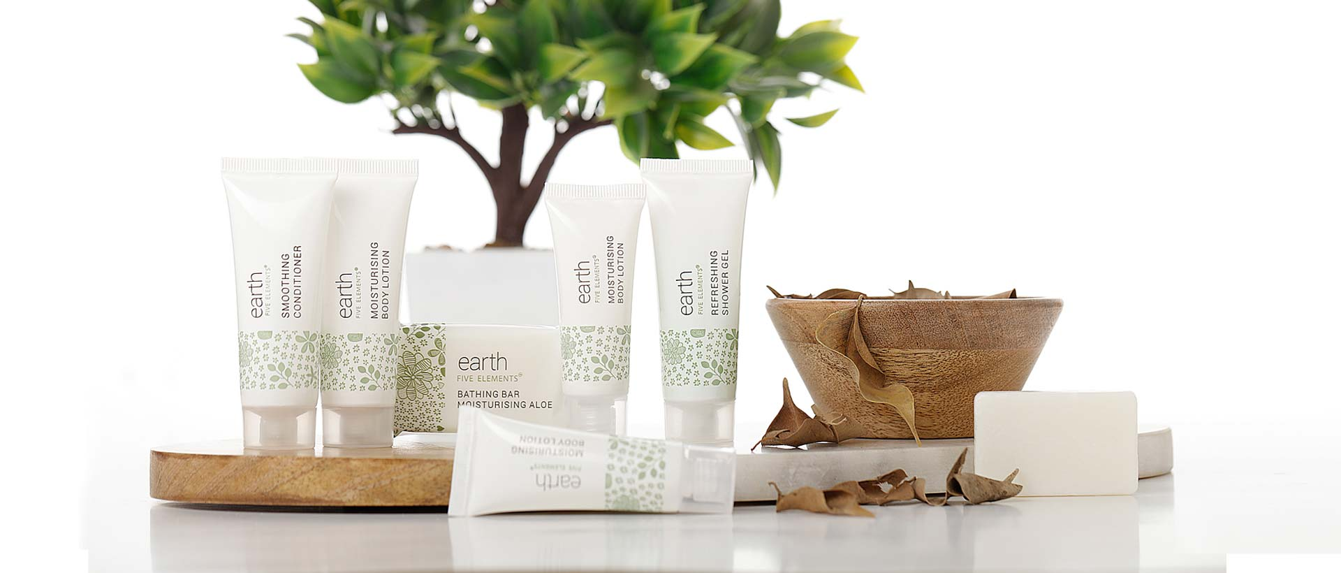 Luxury Hotel Toiletries India, Earth by Five Elements®, Kimirica Hunter International